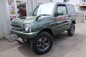 ジムニー ランドベンチャー 4WD リフトアップカスタム車