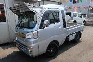 ハイゼットトラック ジャンボ 4WD フルカスタム車 カロッツェリアメモリーナビ フルセグTV
