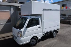 キャリィトラック KCエアコン・パワステ キッチンカー仕様 純正OPスズキセーフティサポートシステム搭載