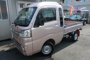 ハイゼットトラック ジャンボ SAⅢt 3方開 4WD 5速ミッション車 ストラーダメモリーナビ 純正LEDヘッドライト